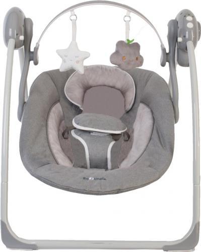 Leagan portabil BO Jungle pentru bebelusi - Gri - Centre de activitate copii -