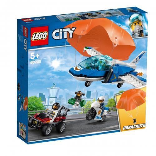LEGO® City - Arest cu parasutisti al politiei aeriene (60208) - Lego copii - City