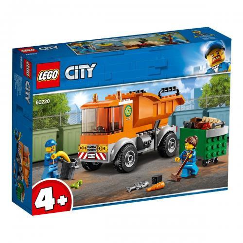 LEGO® City - Camion pentru gunoi (60220) - Lego copii - City
