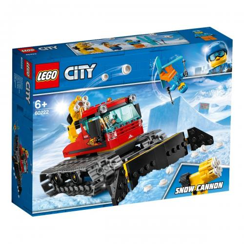 LEGO® City - Compactor de zapada (60222) - Lego copii - City