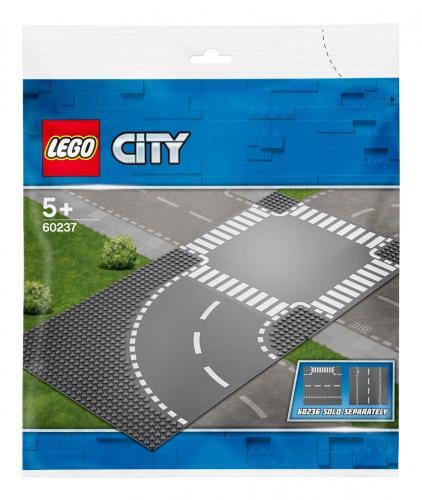 LEGO® City - Curba si intersectie (60237) - Lego copii - City