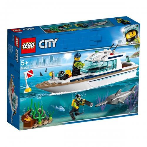 LEGO® City - Iaht pentru scufundari (60221) - Lego copii - City