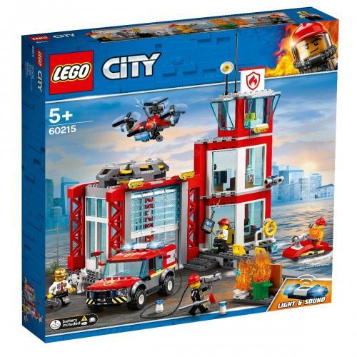 LEGO® City - Statie de pompieri (60215) - Lego copii - City