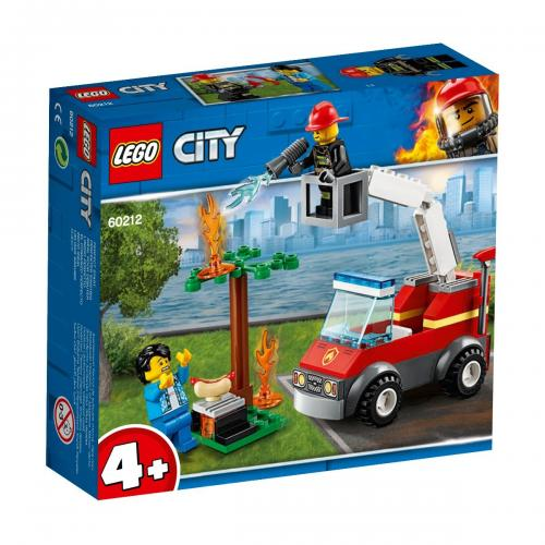 LEGO® City - Stingerea incendiului de la gratar (60212) - Lego copii - City