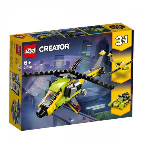 LEGO® Creator - Aventura cu elicopterul (31092) - Lego copii - Creator