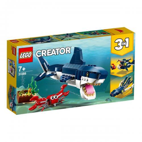 LEGO® Creator - Creaturi marine din adancuri (31088) - Lego copii - Creator