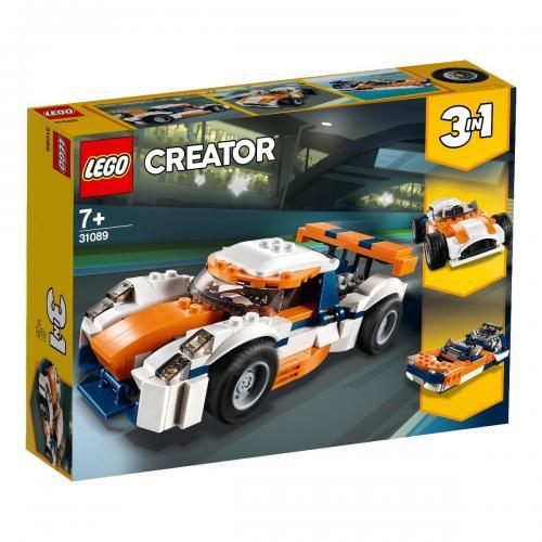 LEGO® Creator - Masina de curse Sunset (31089) - Lego copii - Creator