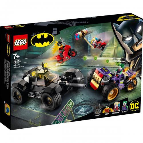 LEGO® DC Comics Super Heroes - Urmarirea lui Joker cu mototriciclul (76159) - Lego copii - Super eroi