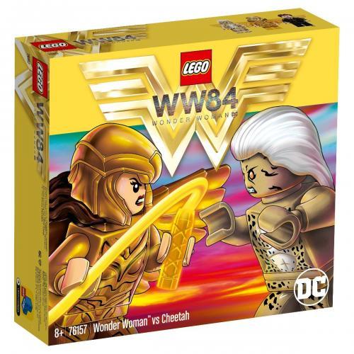 LEGO® DC Super Heroes - Wonder Woman vs Cheetah (76157) - Lego copii - Super eroi