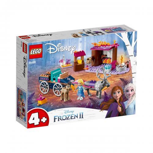 LEGO® Disney Frozen 2 - Aventura Elsei cu trasura (41166) - Lego copii - Disney