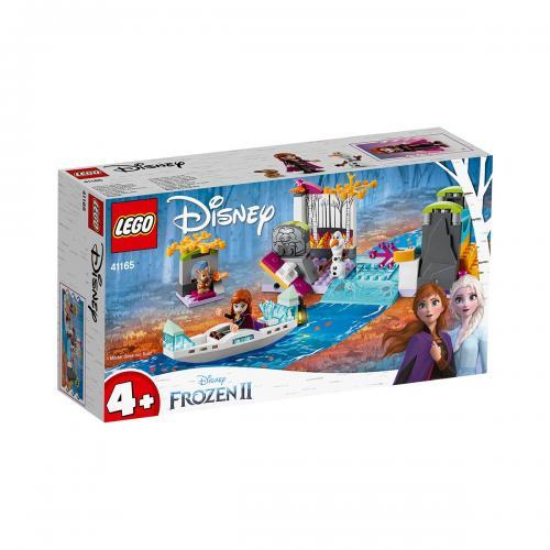 LEGO® Disney Frozen 2 - Expeditia cu Canoe a Anei (41165) - Lego copii - Disney