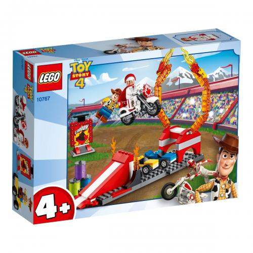 LEGO® Disney Pixar Toy Story 4 - Spectacolul de cascadorii al Ducelui Caboom (10767) - Lego copii - Pixar toy story