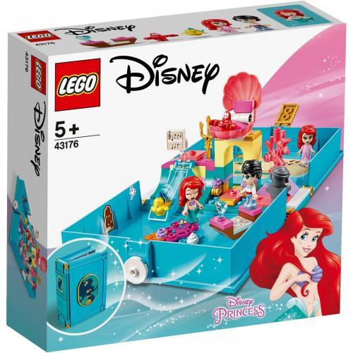 LEGO® Disney Princess™ - Aventuri din cartea de povesti cu Ariel (43176) - Lego copii - Disney