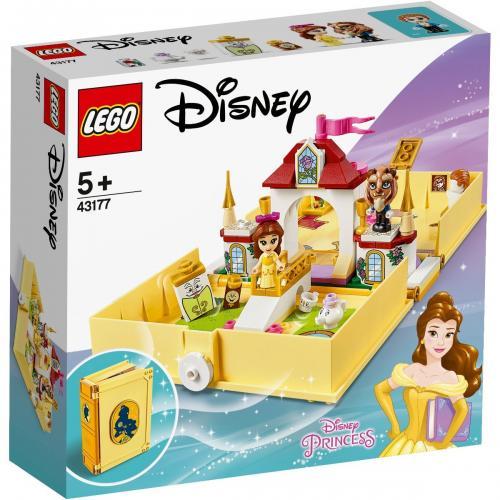 LEGO® Disney Princess™ - Aventuri din cartea de povesti cu Belle (43177) - Lego copii - Disney