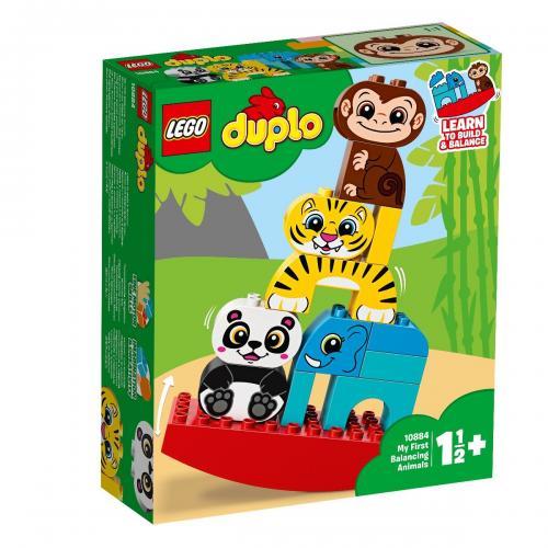 LEGO® DUPLO® - Primul meu balansoar cu animale (10884) - Lego copii - Duplo