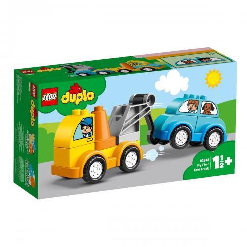 LEGO® DUPLO® - Primul meu camion de remorcare (10883) - Lego copii - Duplo