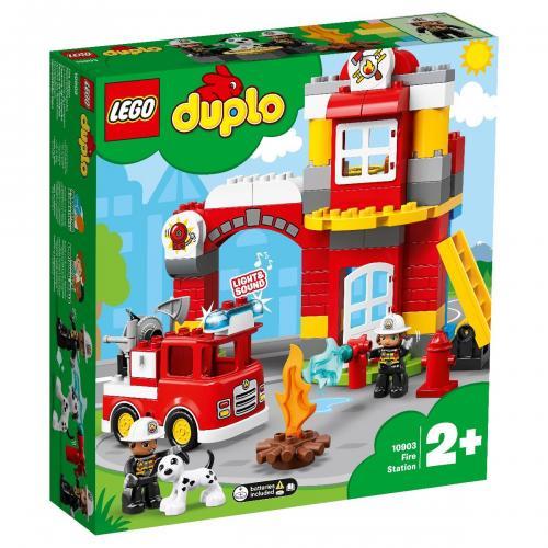 LEGO® DUPLO® - Statie de pompieri (10903) - Lego copii - Duplo