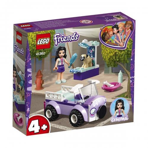 LEGO® Friends - Clinica veterinara mobila a Emmei (41360) - Lego copii - Friends