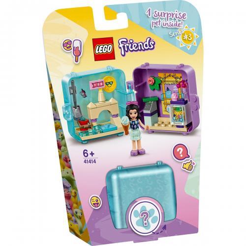 LEGO® Friends - Cubul jucaus de vara al Emmei (41414) - Lego copii - Friends