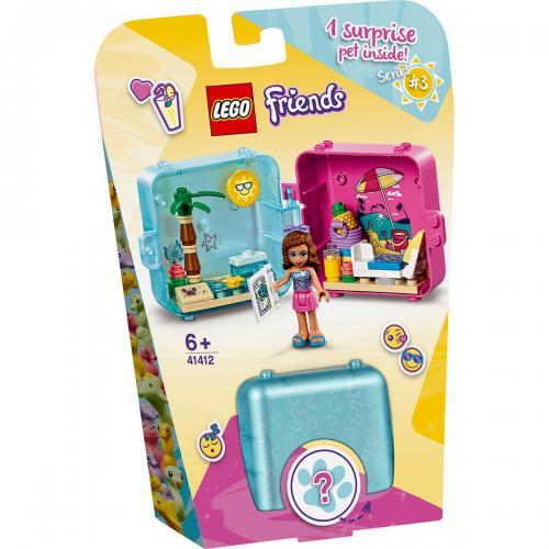 LEGO® Friends - Cubul jucaus de vara al Oliviei (41412) - Lego copii - Friends