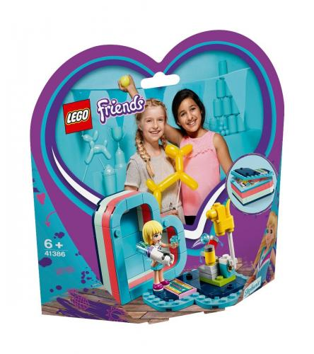 LEGO® Friends - Cutia de vara in forma de inima a Stephaniei (41386) - Lego copii - Friends