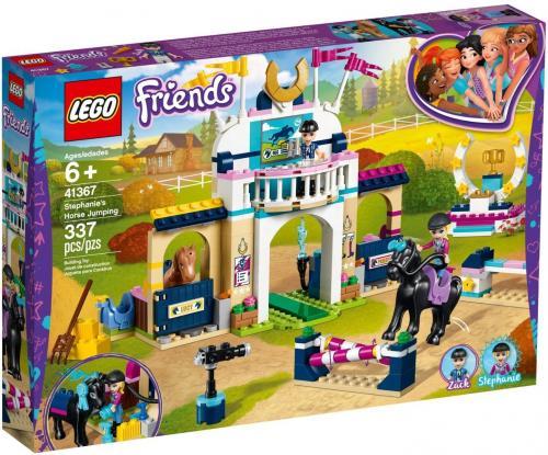 LEGO® Friends - Sariturile cu calul ale Stephaniei (41367) - Lego copii - Friends