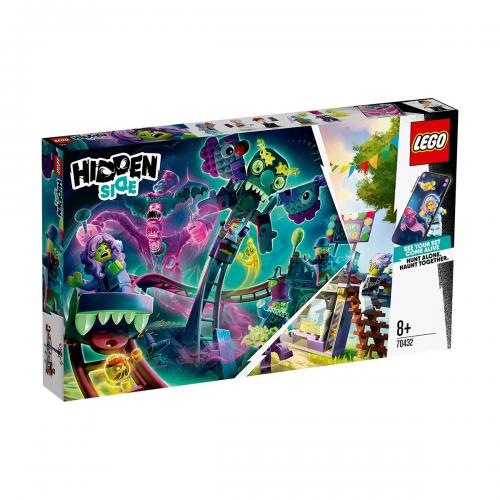 LEGO® Hidden Side™ - Parcul de distractii bantuit (70432) - Lego copii - Hidden Side