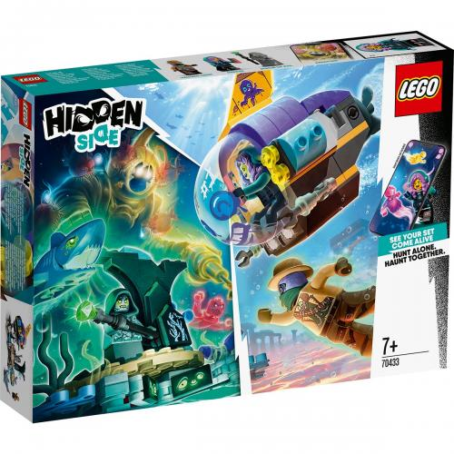 LEGO® Hidden Side™ - Submarinul lui JB (70433) - Lego copii - Hidden Side