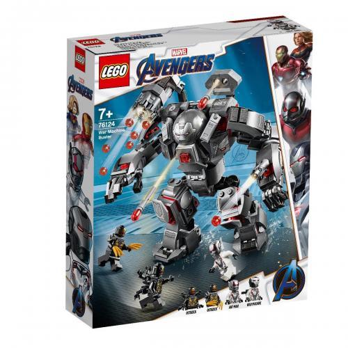 LEGO® Marvel Avengers - Spargator de Masini de razboi (76124) - Lego copii - Marvel Avengers