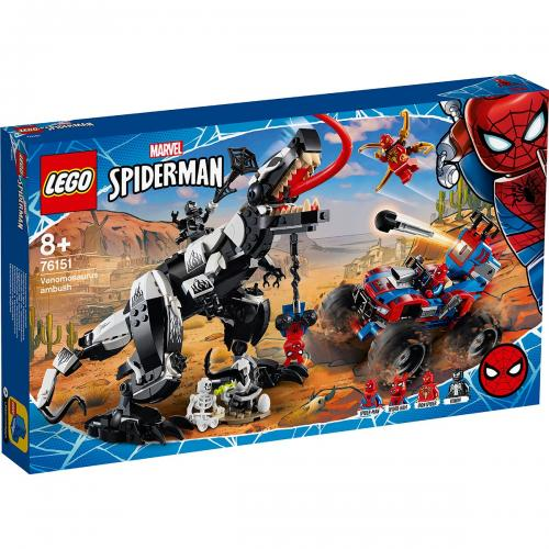 LEGO® Marvel Super Heroes - Ambuscada Venomosaurus (76151) - Lego copii - Marvel super heroes