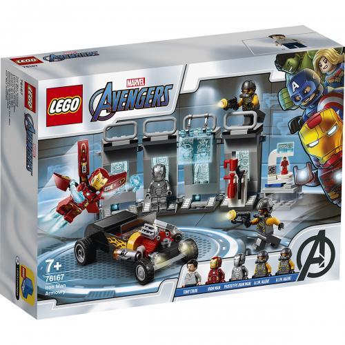LEGO® Marvel Super Heroes - Arsenalul lui Iron Man (76167) - Lego copii - Marvel super heroes