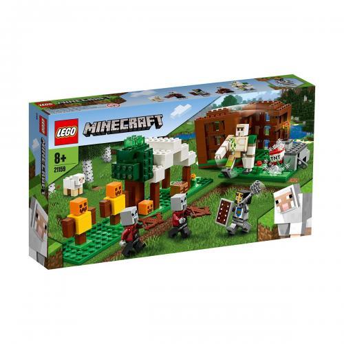 LEGO® Minecraft™ - Pillager Outpost (21159) - Lego copii - Minecraft