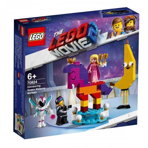 LEGO® Movie - Regina Watevra Wa`Nab (70824) - Lego copii - Movie 2