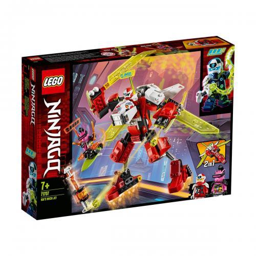 LEGO® Ninjago® - Robotul Avion cu reactie al lui Kai (71707) - Lego copii - Ninjago