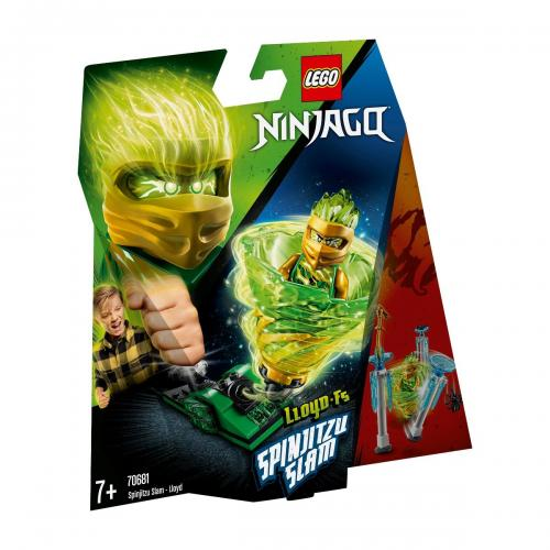 LEGO® NINJAGO® - Slam Spinjitzu - Lloyd (70681) - Lego copii - Ninjago