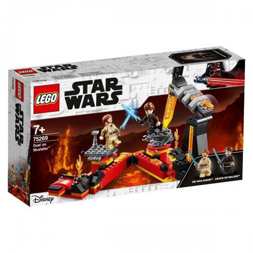 LEGO® Star Wars™ - Duel pe Mustafar (75269) - Lego copii - Star Wars