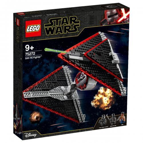 LEGO® Star Wars™ - Tie Fighter Sith (75272) - Lego copii - Star Wars
