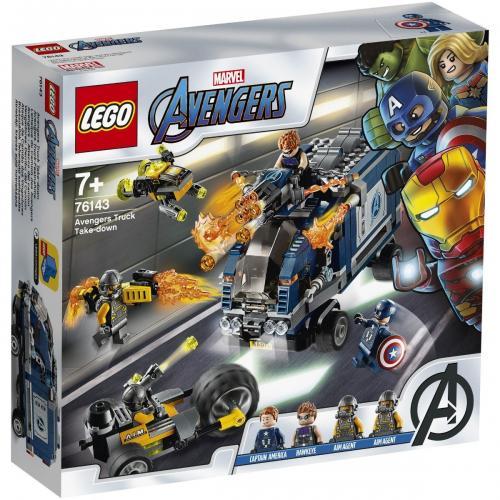 LEGO® Super Heroes - Razbunatorii - Distrugerea camionului (76143) - Lego copii - Marvel super heroes