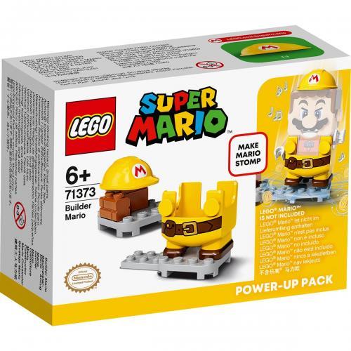 LEGO® Super Mario - Costum de puteri: Mario Constructor (71373) - Lego copii - Super Mario