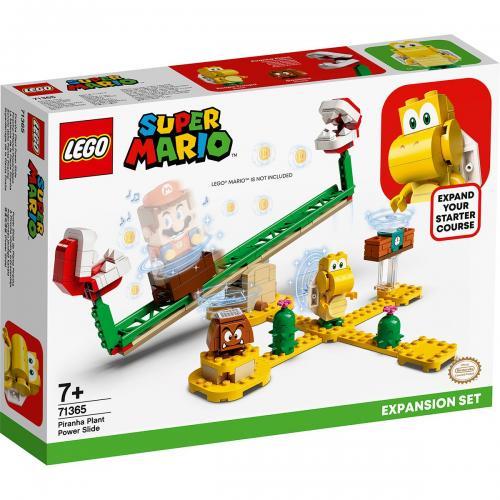 LEGO® Super Mario - Set de extindere Toboganul Plantei Piranha (71365) - Lego copii - Super Mario