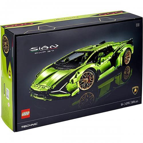 LEGO® Technic - Lamborghini Sian FKP 37 (42115) - Lego copii - Technic