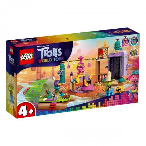 LEGO® Trolls™ - Aventura cu pluta lui Lonesome Flats (41253) - Lego copii - Trolls