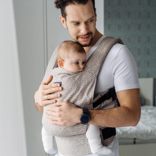 Marsupiu ergonomic Embrace N27 City Womar Zaffiro 3-Z-NE-N27 - Marsupii bebe -