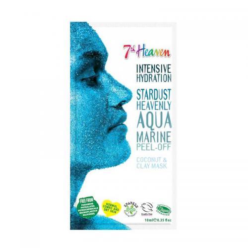 Masca de fata purificatoare 7th Heaven aqua marine Peel-off - 15 ml - Ingrijire corporala - Produse pentru ten