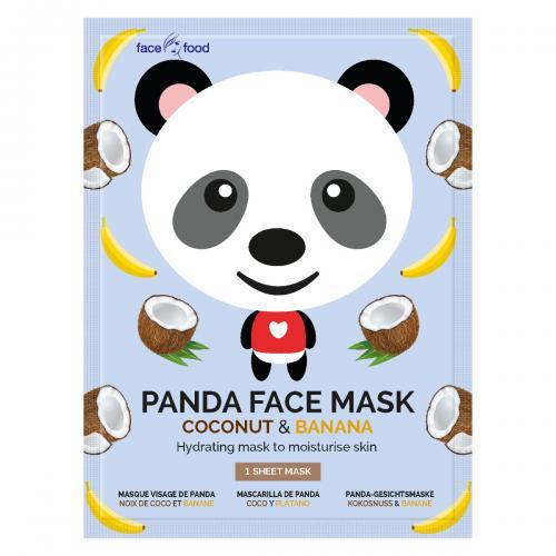 Masca pentru adolescenti din material textil 7Th Heaven - Panda - Ingrijire corporala - Produse pentru ten