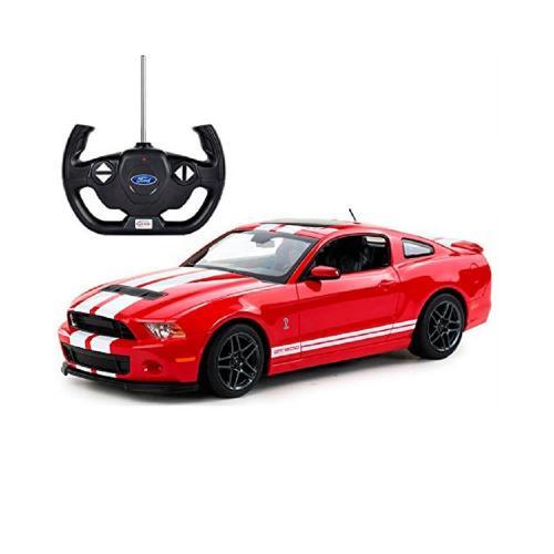 Masina cu telecomanda Rastar Ford Shelby GT 500 - 1:14 - Rosu - Masinute electrice -