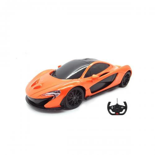 Masina cu telecomanda Rastar McLaren P1 RC - 1:24 - Portocaliu - Masinute electrice -