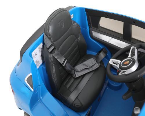 Masina electrica copii Porche Macan Turbo albastra - Masinute electrice -