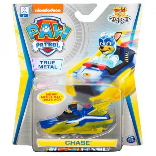 Masinuta cu figurina Paw Patrol True Metal - Chase 20121350 - Masinute copii -