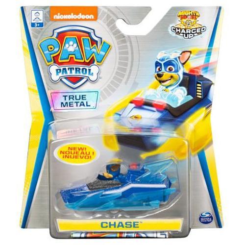 Masinuta cu figurina Paw Patrol True Metal - Chase 20121401 - Masinute copii -